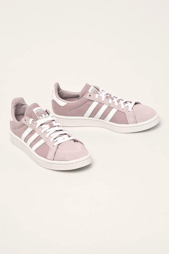 adidas Originals - Topánky Campus levanduľová