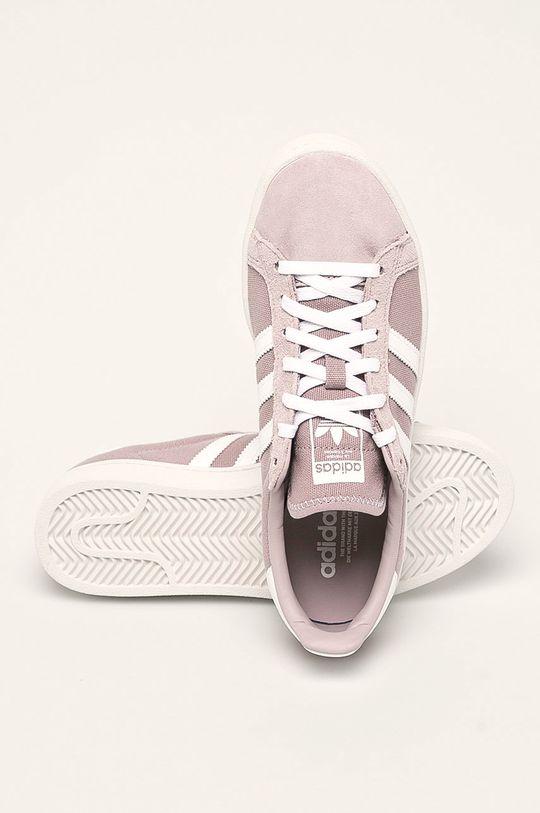 levanduľová adidas Originals - Topánky Campus