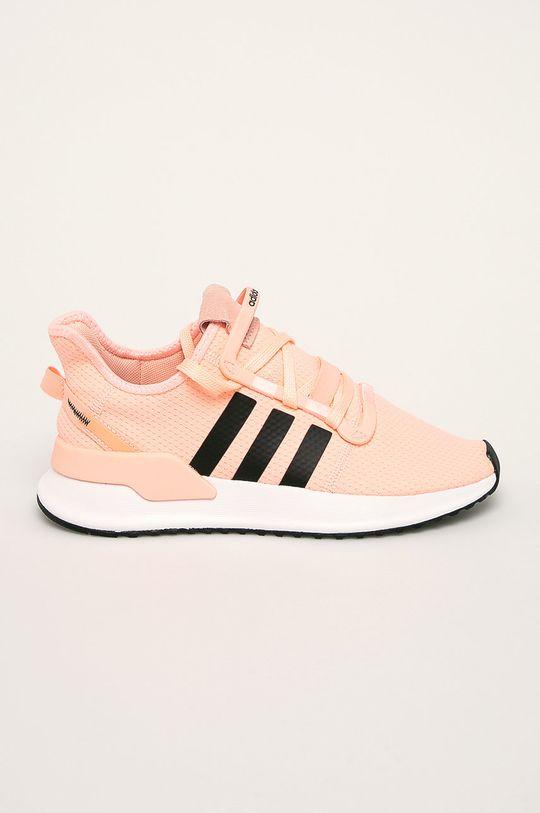 pastelová ružová adidas Originals - Topánky U Path Run Dámsky