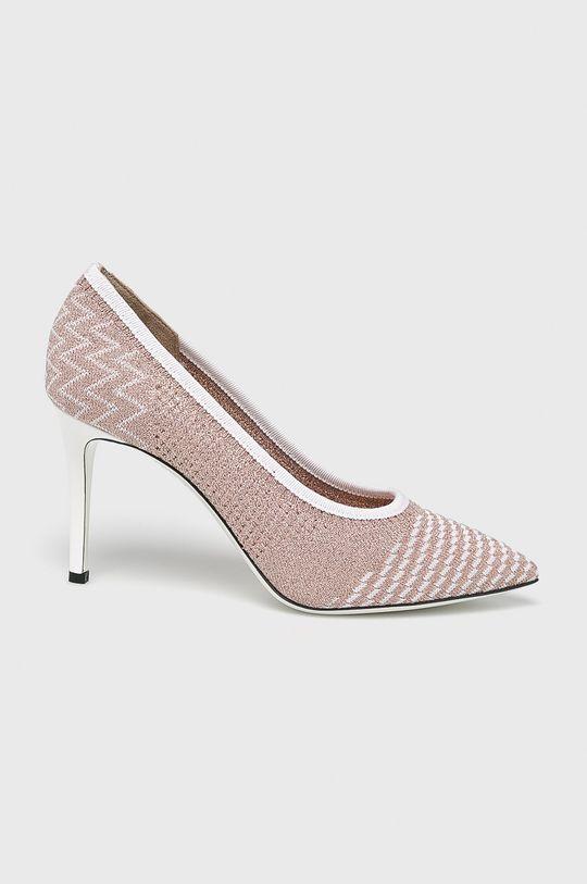 roz violet Pollini - Pantofi cu toc De femei
