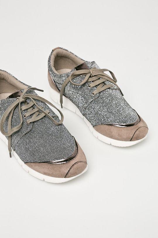 Corina - Pantofi argintiu