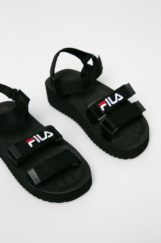 Fila - Sandały Tomaia Sandal czarny
