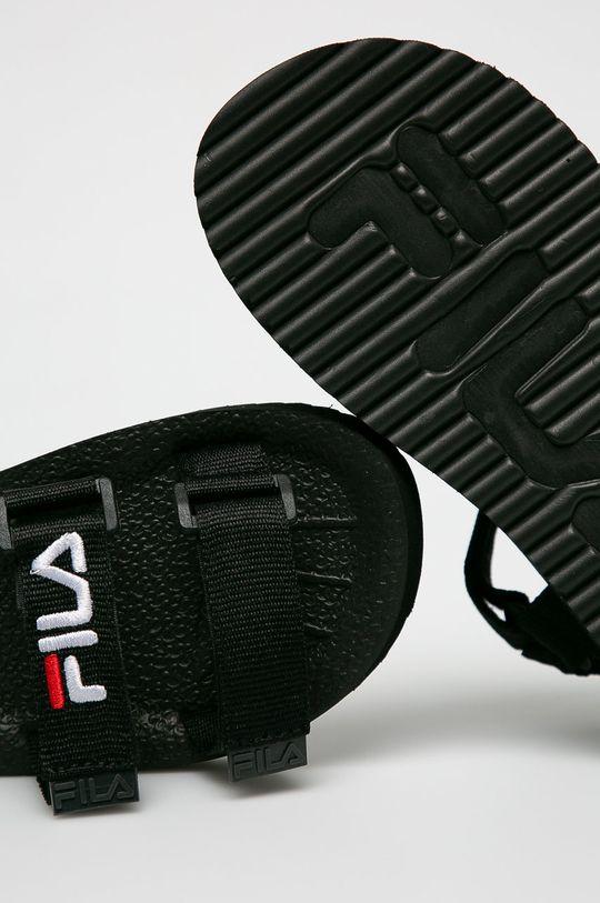 czarny Fila - Sandały Tomaia Sandal