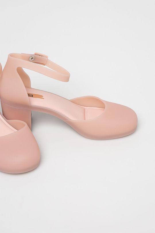 Melissa - Szandál Femme High rózsaszín