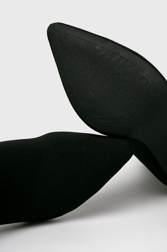 fekete Karl Lagerfeld - Bokacsizma Manoir