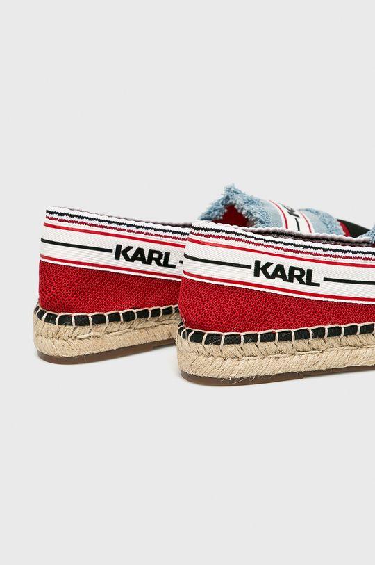 Karl Lagerfeld - Espadrilky Svršek: Textilní materiál Vnitřek: Umělá hmota, Přírodní kůže Podrážka: Umělá hmota