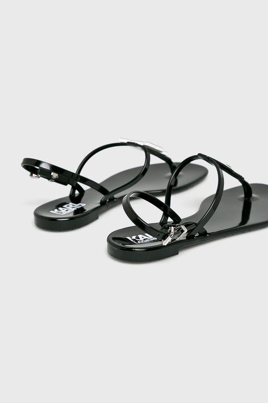 černá Karl Lagerfeld - Sandály