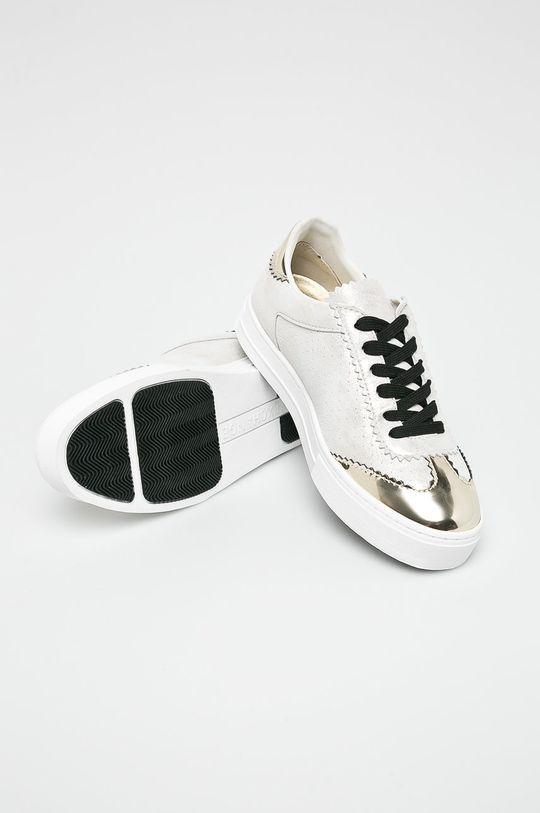 zlatá Armani Exchange - Topánky