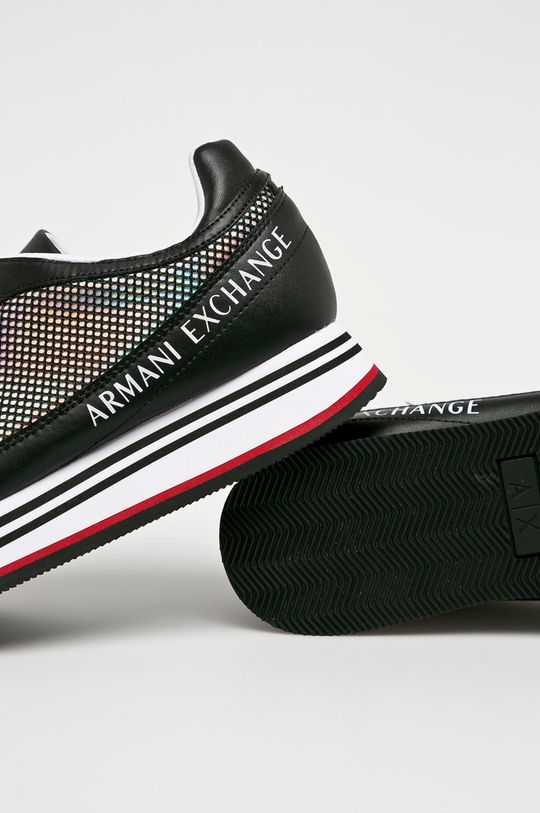 čierna Armani Exchange - Topánky