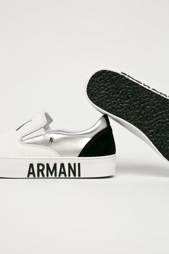 Armani Exchange - Topánky <p>Zvršok: Syntetická látka, Textil, Prírodná koža Vnútro: Syntetická látka, Textil Podrážka: Syntetická látka</p>