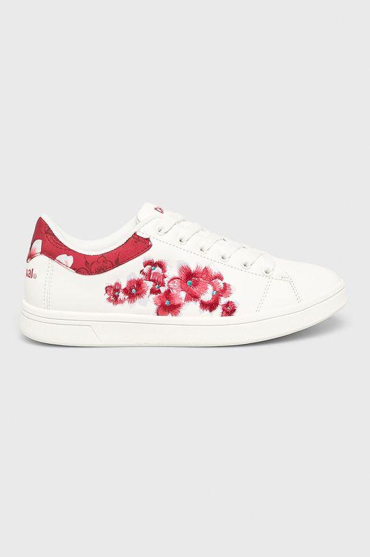 alb Desigual Sport - Pantofi De femei