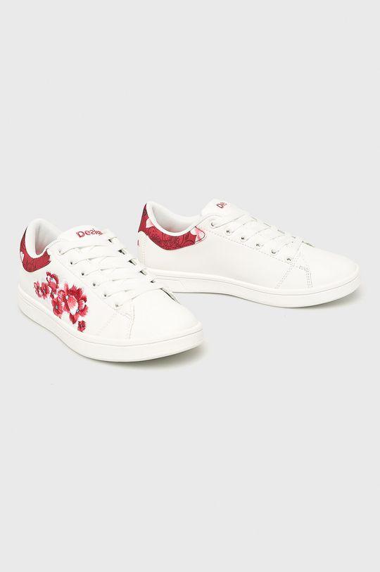 Desigual Sport - Pantofi alb