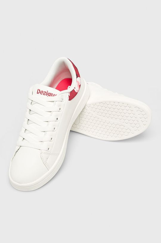 alb Desigual Sport - Pantofi