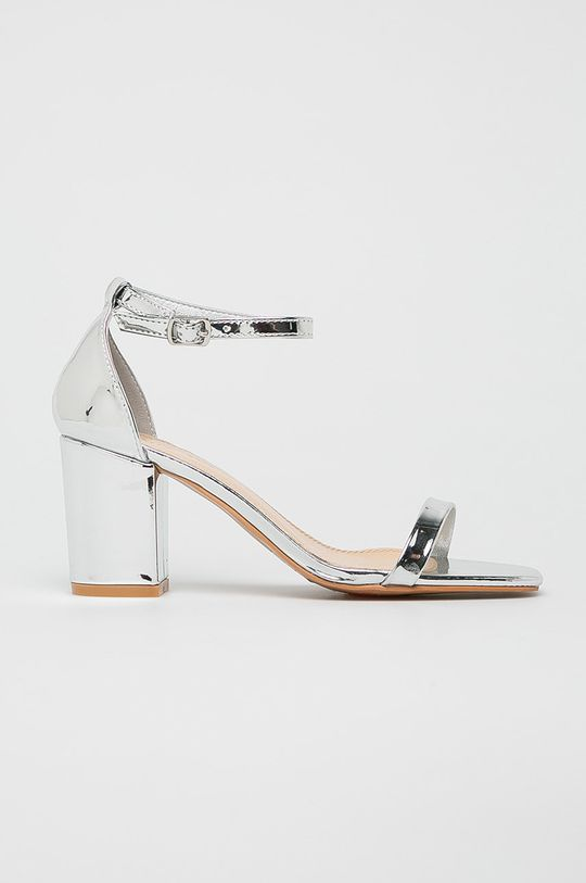 argintiu Glamorous - Sandale De femei