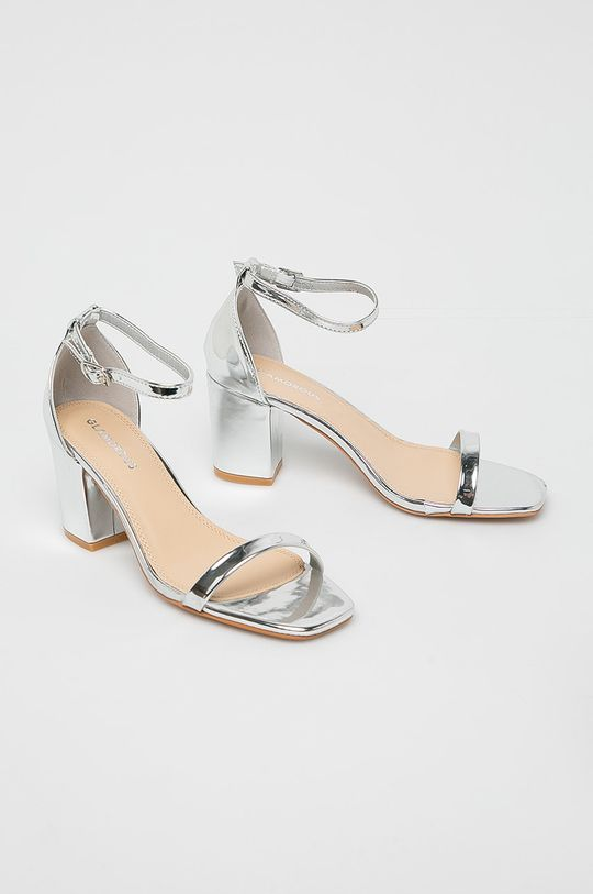 Glamorous - Sandale argintiu