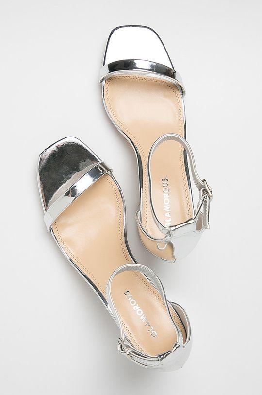argintiu Glamorous - Sandale