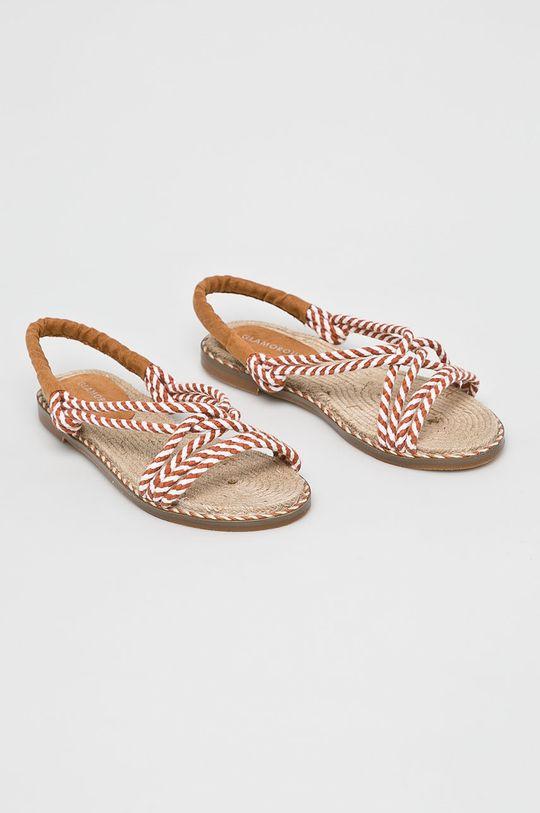Glamorous - Sandale cafea