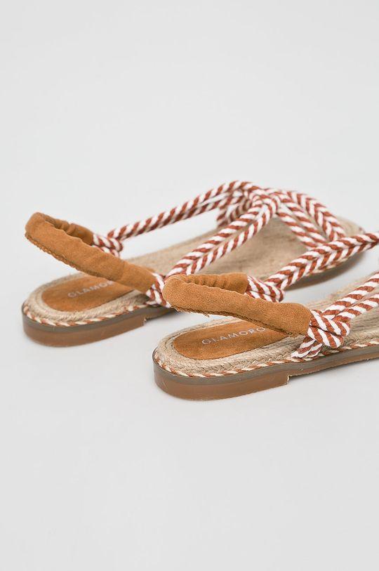 Glamorous - Sandale Gamba: Material textil Interiorul: Material textil Talpa: Material sintetic