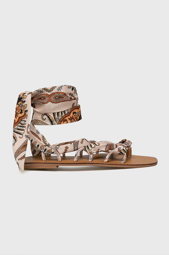 bej Glamorous - Sandale De femei