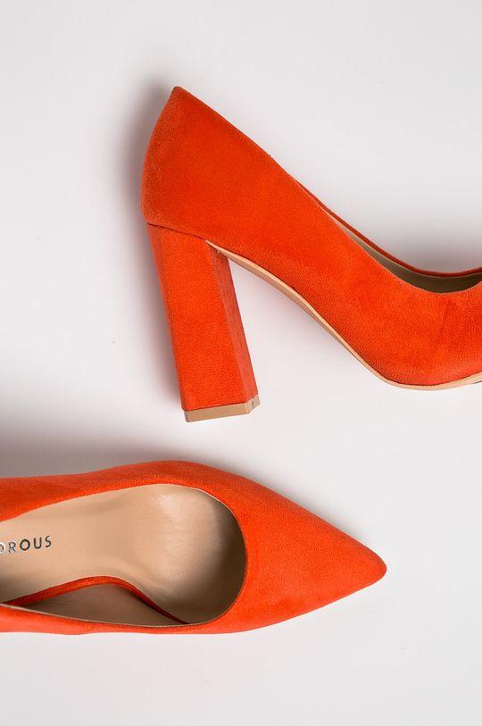 Glamorous - Pantofi cu toc Gamba: Material textil Interiorul: Material sintetic Talpa: Material sintetic