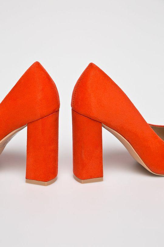 portocaliu Glamorous - Pantofi cu toc