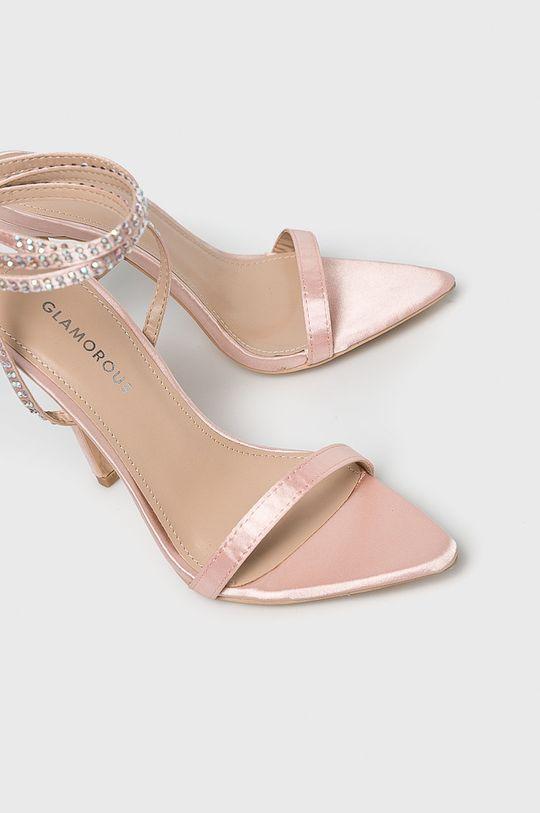 Glamorous - Sandale Gamba: Material textil Interiorul: Material sintetic Talpa: Material sintetic