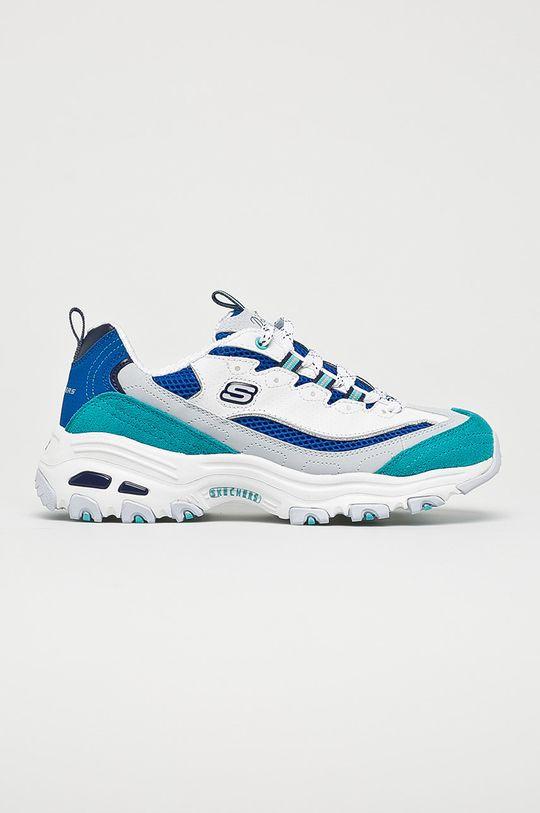 modrá Skechers - Topánky Dámsky