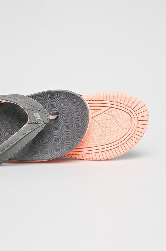szürke New Balance - Flip-flop W6090GRP