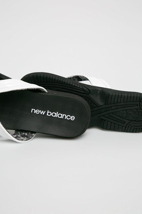 New Balance - Flip-flop W6090WK  Szár: textil, bőr Belseje: szintetikus anyag Talp: szintetikus anyag