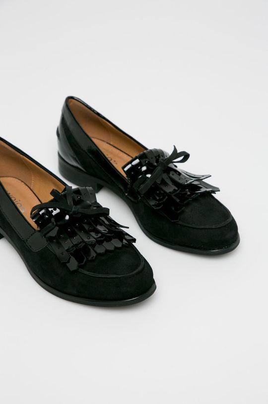 Wojas - Mokasíny černá