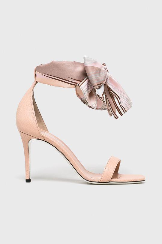 pastelově růžová Pollini - Sandály Dámský