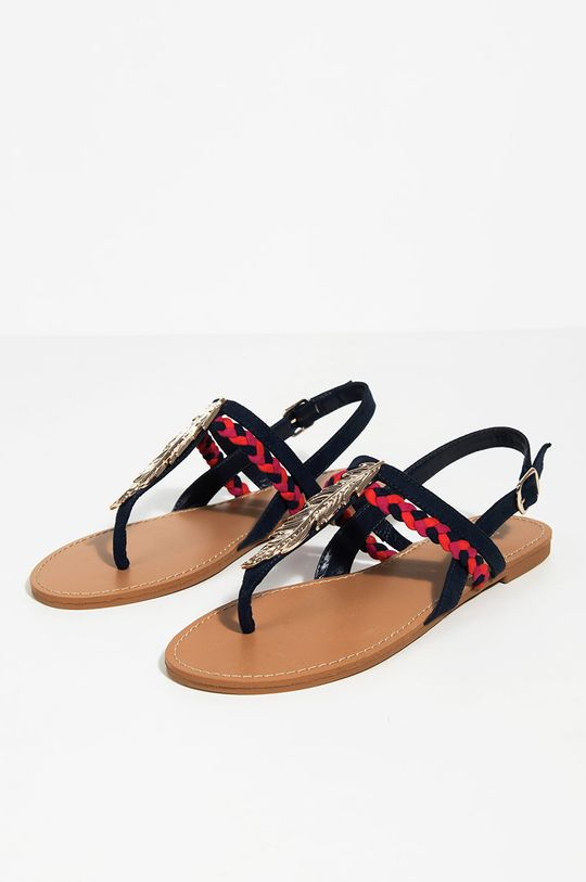 Parfois - Sandály námořnická modř