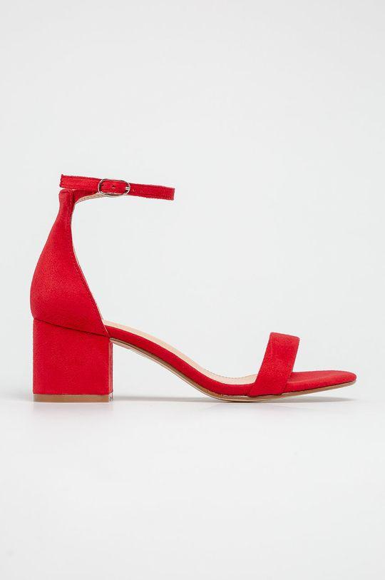 červená Truffle Collection - Sandále Dámsky