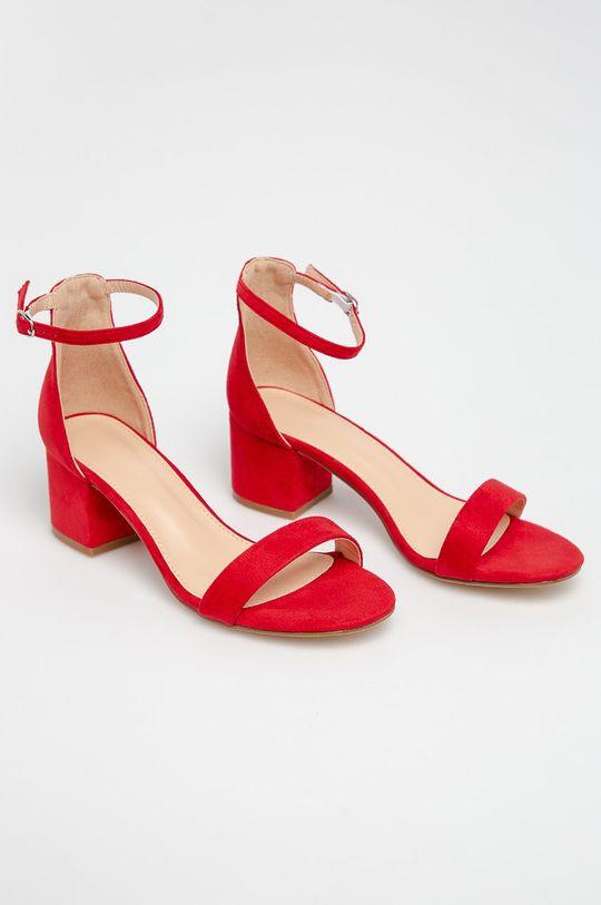 Truffle Collection - Sandále červená