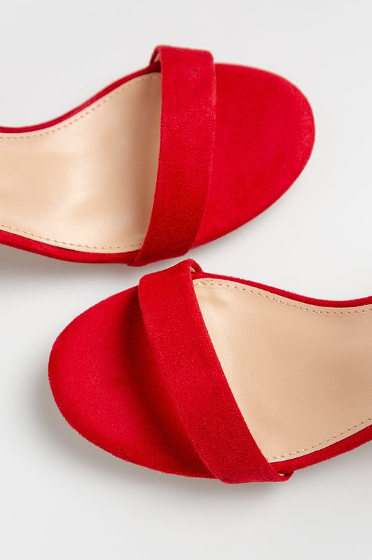 červená Truffle Collection - Sandále