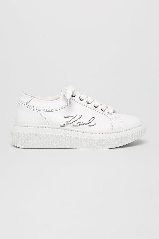 fehér Karl Lagerfeld - Cipő Kreeper Lo Női