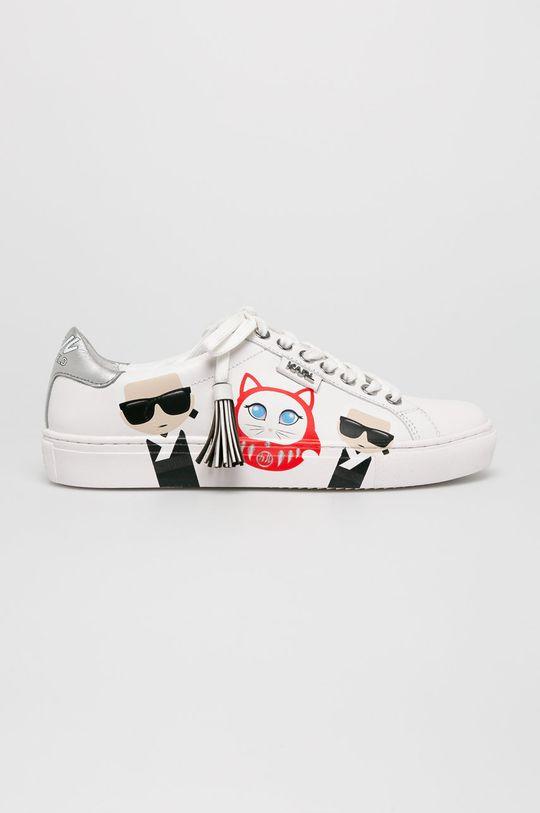 fehér Karl Lagerfeld - Cipő Kupsole Karl in Tokyo Női
