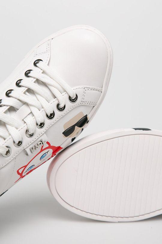 fehér Karl Lagerfeld - Cipő Kupsole Karl in Tokyo