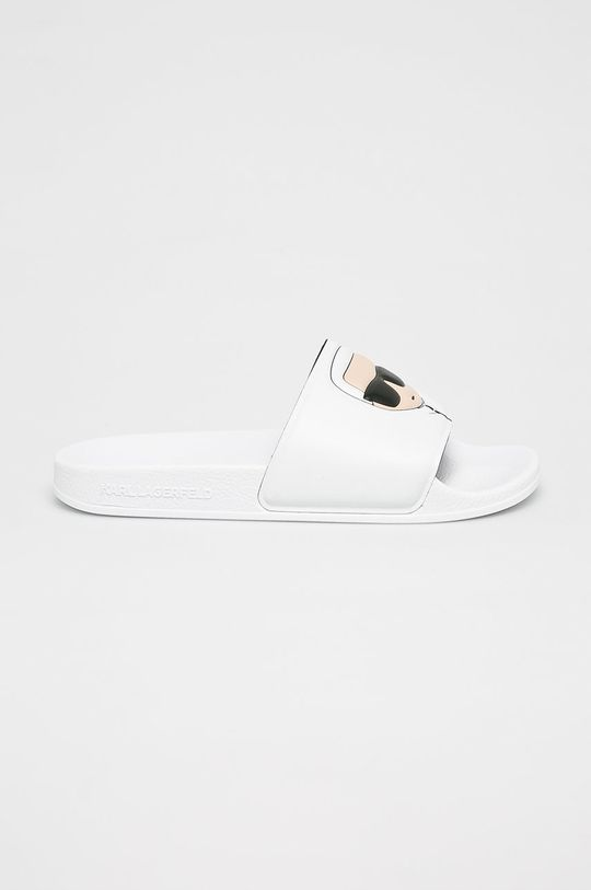 fehér Karl Lagerfeld - Papucs cipő Kondo II Női