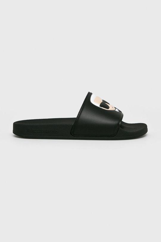 čierna Karl Lagerfeld - Šľapky Kondo II Dámsky