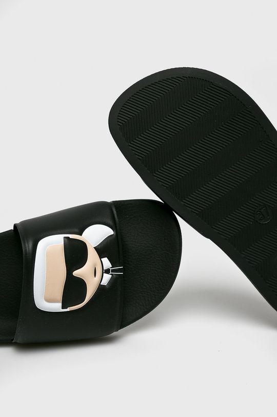 Karl Lagerfeld - Šľapky Kondo II  Zvršok: Syntetická látka Vnútro: Textil Podrážka: Syntetická látka