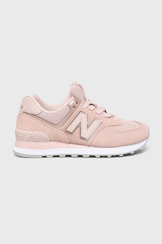 rózsaszín New Balance - Cipő WL574MEC Női