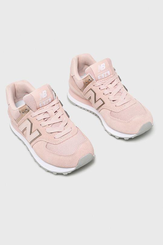 New Balance - Cipő WL574MEC rózsaszín