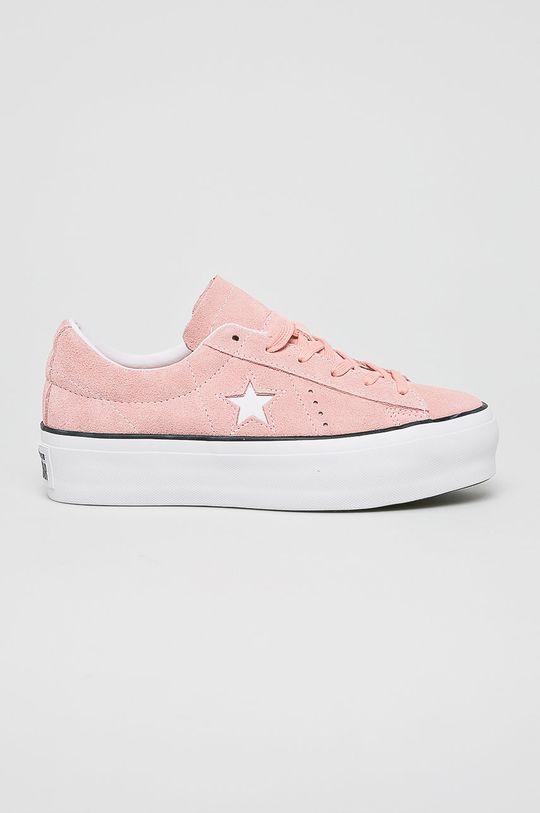 różowy Converse - Tenisówki Damski