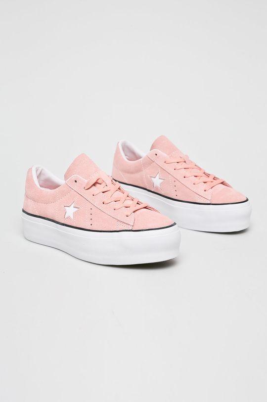 Converse - Tenisówki różowy