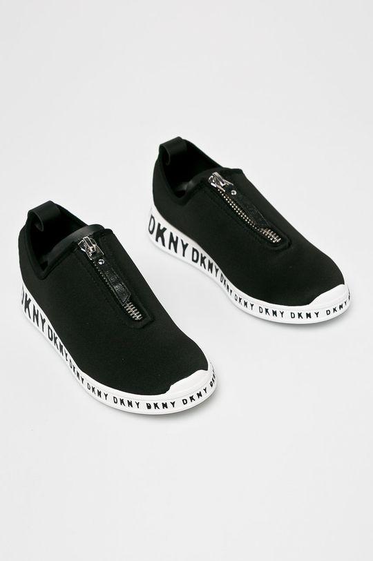 Dkny - Cipő Melissa - Slip Sneak fekete