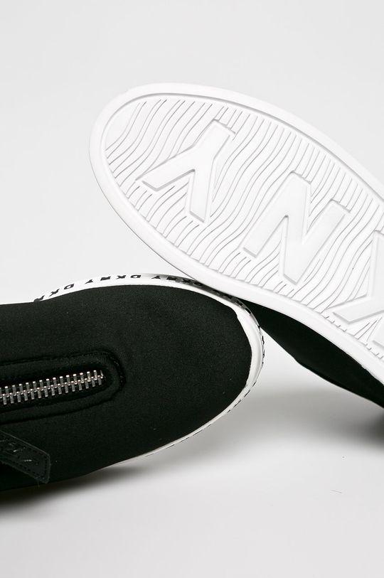 fekete Dkny - Cipő Melissa - Slip Sneak