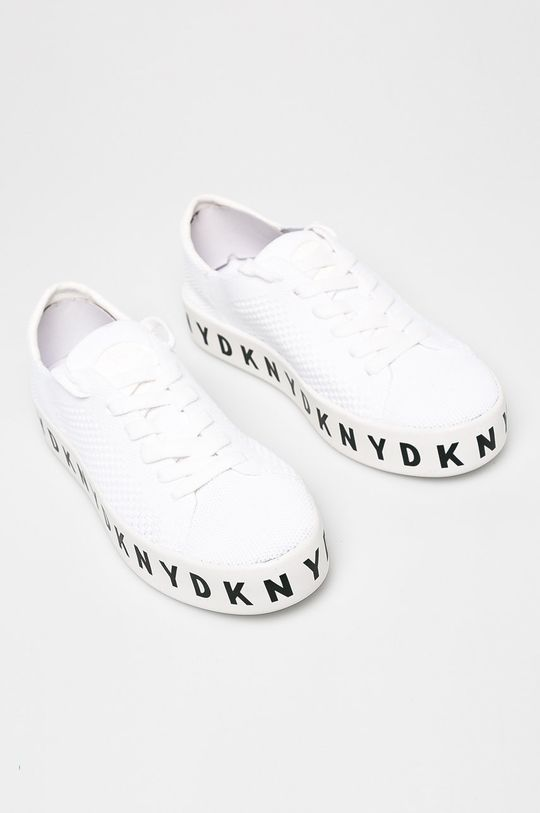 Dkny - Cipő Banson - Lace Up Pla fehér