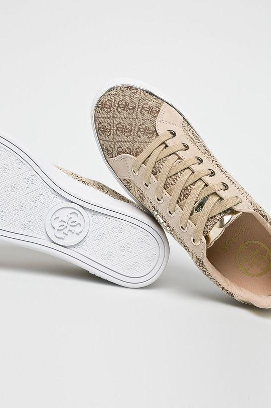 Guess Jeans - Cipő FL5BC2FAL12  Szár: szintetikus anyag, textil Belseje: textil Talp: szintetikus anyag