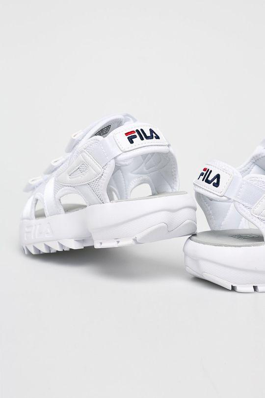 biały Fila - Sandały